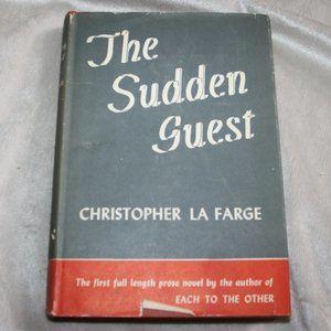 Vintage book The sudden Guest La Farge 1946
